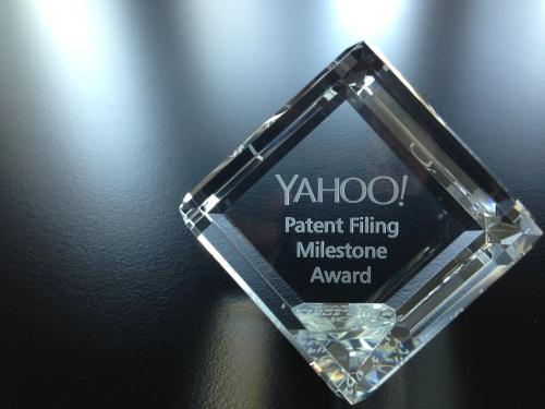 Yahoo patent cube